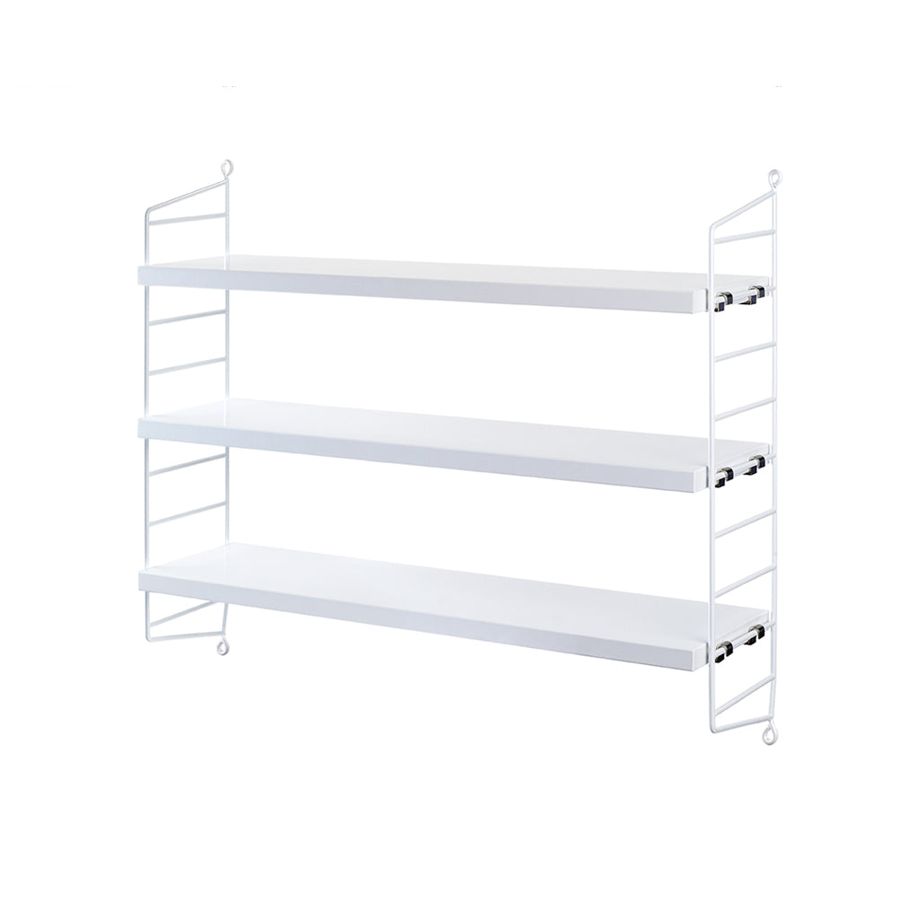 String Pocket Shelf - White
