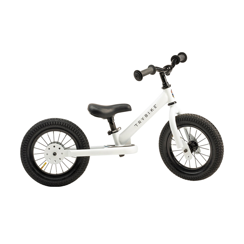 Trybike 2 in 1 Steel Bike/Trike - White - 3