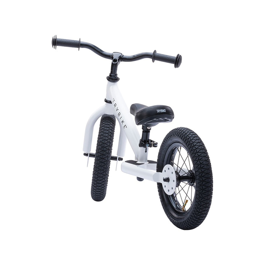 Trybike 2 in 1 Steel Bike/Trike - White - 4