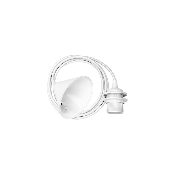Vita Ceiling Cord Set - White - 1