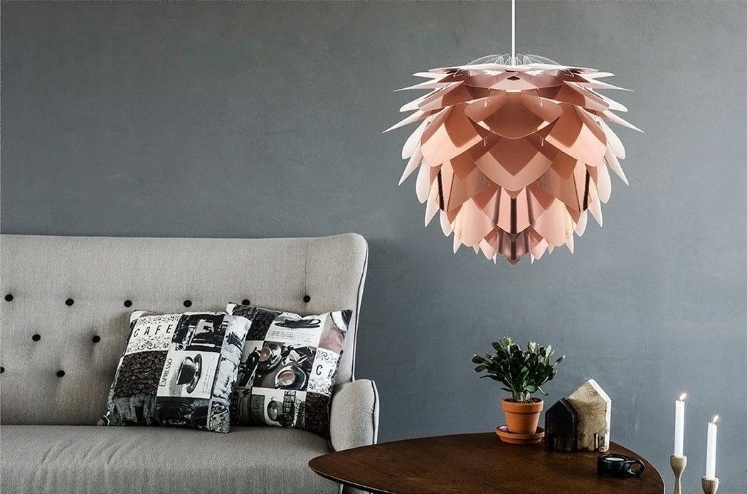 Vita Medium Silvia Lamp Shade - Copper - 7