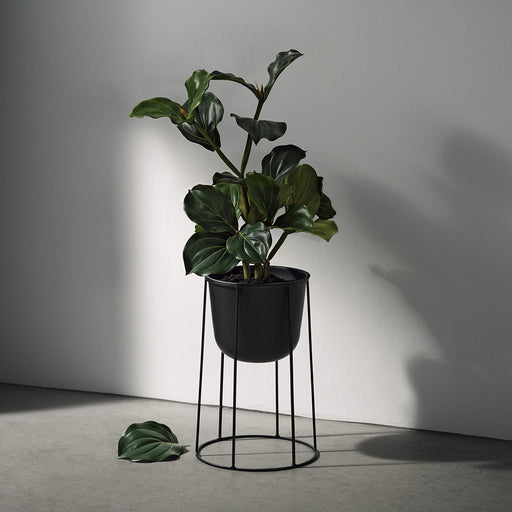 menu wire plant pot