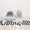 OYOY Black + White Adventure Rug - Is To Me - 2