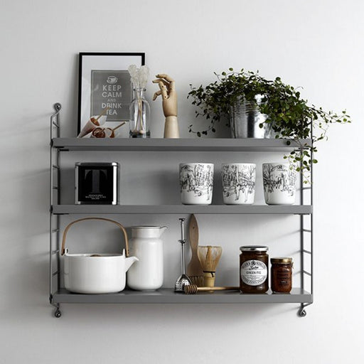 String Pocket Shelf - Grey - Is To Me - 2