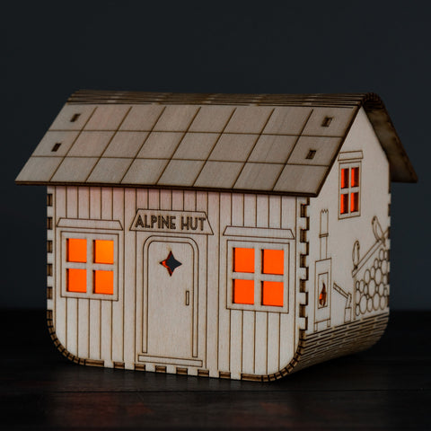 Alpine Hut Nightlight