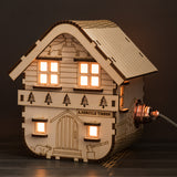 Woodsman's Lodge Lamp (mains powered)