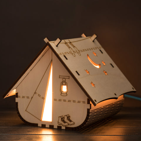 SAMPLE : Tent Lamp (mains powered)