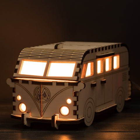 SAMPLE : Camper Van Lamp (mains powered)