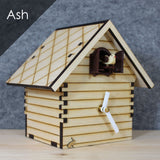 Heidi Shelf Cuckoo Clock - Ash