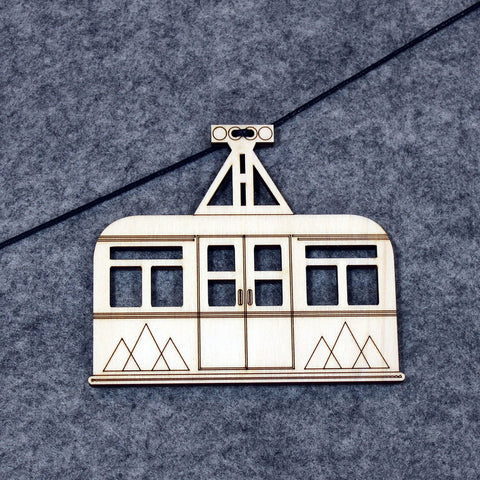 Cable Car Wall Decoration