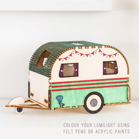 Retro Caravan Nightlight
