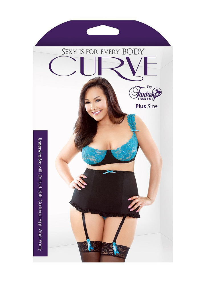 Fantasy Curve Plus Size Underwire Bra Set 16-24