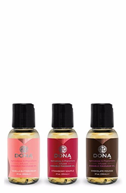 DONA by JO Let Miss Kiss You-Massage Oil Gift Set