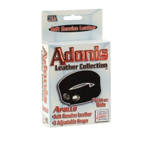 Adonis Leather Collection Apollo Cock Ring