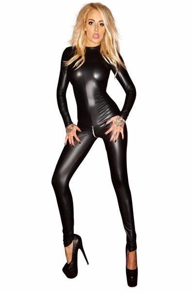 Wetlook Catsuit by NOIR HANDMANDE