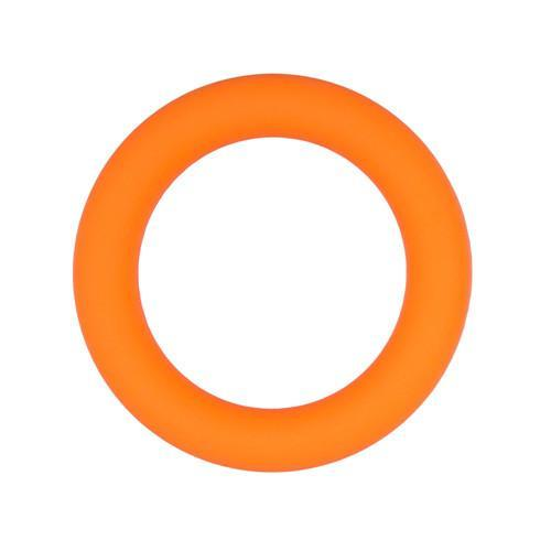 Orange Silicone Cock Ring