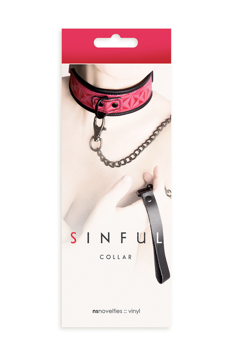 Sinful Pink Collar