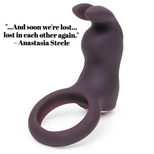 Fifty Shades Freed: Lost In Each Other Vibrating Rabbit Love Ring