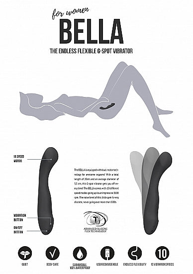 Bella by Jil - The Endless Flexible G-Spot Vibrator