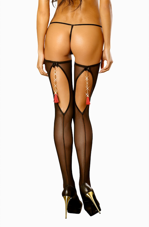 Boudoir Stockings 10-14