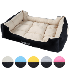 Leopet® HTBT10 75x60 Small Dog Bed 75x60x19 cm DIFFERENT COLOURS