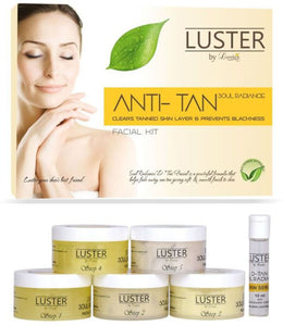 Luster Anti Tan Soul Radiance Facial Kit - kartlifestyle.com