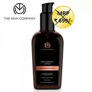 The Man Company Sweat & Odour Control Lotion For Men - kartlifestyle.com