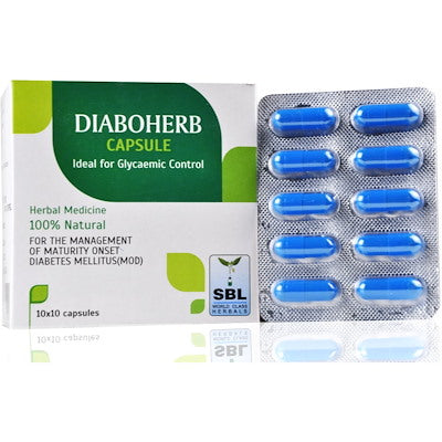 SBL Homoeopathic Diaboherb for Diabetes