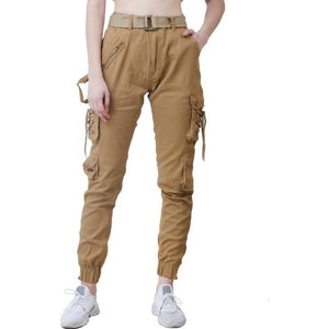 Women's Stylish Beige Cargo