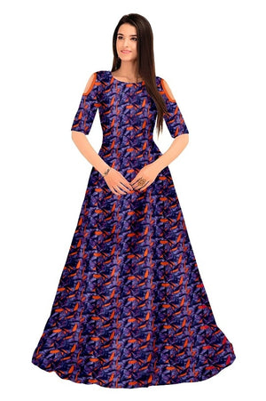 Colourful Women's Gown