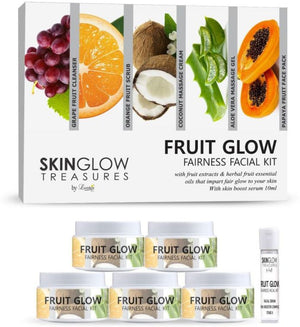 Luster Fruit Glow Fairness Facial Kit - kartlifestyle.com