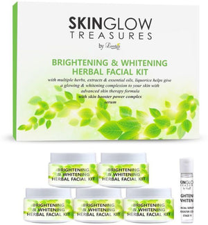 Luster Brightening & Lightening Herbal Facial Kit - kartlifestyle.com