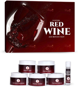 Luster Red Wine Age Reflect Facial Kit - kartlifestyle.com