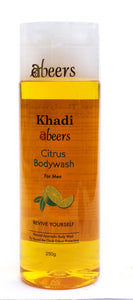 Abeers Khadi Herbal Citrus Body Wash - shopwellnessonline.com