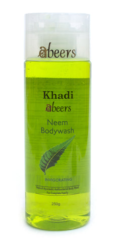 Abeers Khadi Neem Body Wash - shopwellnessonline.com