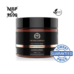 The Man Company Anti Chafing Cream Neem & Coconut - kartlifestyle.com