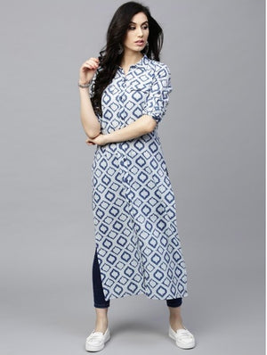Women's Fancy Cotton Kurti