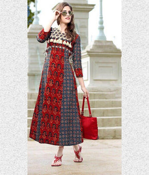 Beautiful Cotton Kurti - kartlifestyle.com