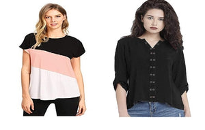 Women Fashion Tops Pack Of 2  - kartlifestyle.com