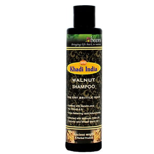 Abeers Khadi WALNUT SHAMPOO FOR DRY HAIR - shopwellnessonline.com