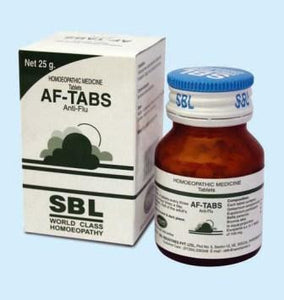 SBL AF-Tabs Tablets for Cold & Flu - kartlifestyle.com