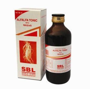 SBL Homoeopathic ALFALFA SYRUP with Ginseng - shopwellnessonline.com