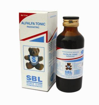SBL Homoeopathic ALFALFA SYRUP for Children - shopwellnessonline.com