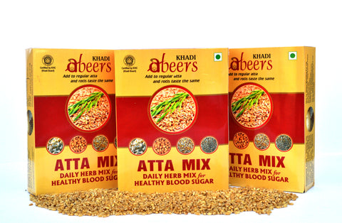 Abeers Khadi Atta Herb Mix for Healthy Blood Sugar - shopwellnessonline.com