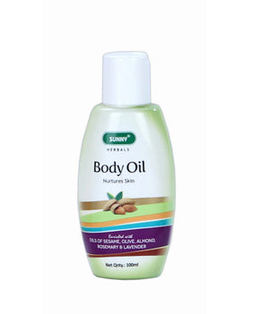 Bakson's Sunny Herbals BODY OIL - shopwellnessonline.com
