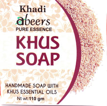 Abeers Khadi Pure essence KHUS SOAP - shopwellnessonline.com - 1