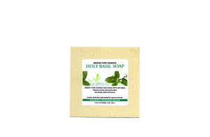 Abeers Khadi Holy Basil Oat Meal Soap for Acne - shopwellnessonline.com