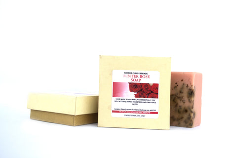 Abeers khadi WINTER ROSE SOAP - shopwellnessonline.com