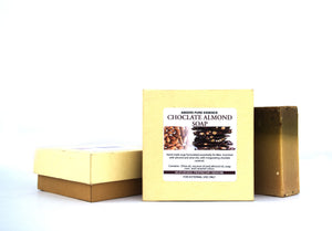 Abeers Khadi CHOCOLATE ALMOND SOAP for Men - shopwellnessonline.com