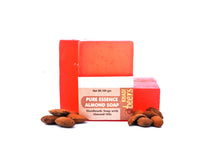 Abeers Khadi Pure Essence ALMOND SOAP - shopwellnessonline.com - 3